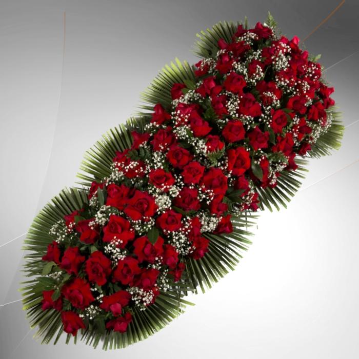 copricassa rose rosse