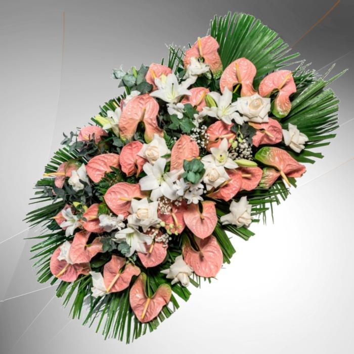 cuscino fiori misti